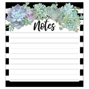 Carson-Dellosa CD-151301 Succulents Notepad