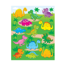 Carson Dellosa CD-168018 Dinosaurs Shape Stickers 78Pk