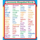 Carson Dellosa CD-168068 Commonly Misspelled Words Stickers