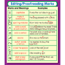 Carson Dellosa CD-168073 Editing Proofreading Marks Stickers