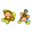Carson Dellosa CD-168076 Monkeys Stickers