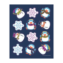 Carson Dellosa CD-168192 Winter Fun Shape Stickers