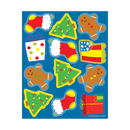 Carson Dellosa CD-168194 Holiday Shape Stickers