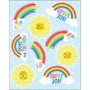 Carson Dellosa CD-168268 Hello Sunshine Motivational Sticker