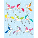 Carson Dellosa CD-168269 Unicorns Shape Stickers Hello Sunshine