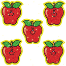 Carson Dellosa CD-2900 Dazzle Stickers Apples 75-Pk Acid & Lignin Free