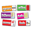 Carson Dellosa CD-3266 Bb Set Print-Rich Classroom Labels 56 Illustrated Word Cards