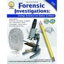 Carson Dellosa CD-404098 Forensic Investigations Activity Book Gr 4-8