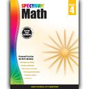 Carson Dellosa CD-704564 Spectrum Math Gr 4