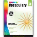 Carson Dellosa CD-704610 Spectrum Vocabulary Gr 3