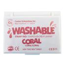 Center Enterprises CE-511 Stamp Pad Washable Coral