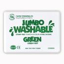 Center Enterprises CE-5503 Jumbo Stamp Pad Green Washable