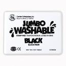 Center Enterprises CE-5506 Jumbo Stamp Pad Black Washable