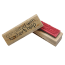 Center Enterprises CE-A108 Stamp Completed With Teachers Help 2-1/2 In X 3/4 In