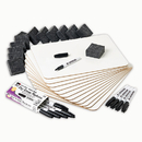 Charles Leonard CHL35036 Dry Erase Lapboard Class Pack 12Pk