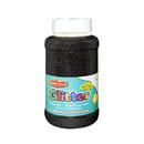 Charles Leonard CHL41120 Creative Arts Glitter 1Lb Can Black