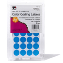 Charles Leonard CHL45115 Color Coding Labels Blue