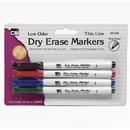 Charles Leonard CHL47834BN Dry Erase Marker Thin Line, 12 PK