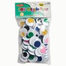 Charles Leonard CHL64570 Jumbo Wiggle Eyes Assorted Colors