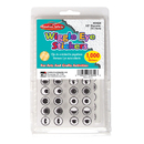 Charles Leonard CHL64620 Wiggle Eyes Stickers Black