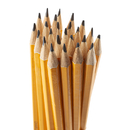 Charles Leonard CHL65512 Pencil #2 Lead Pre-Sharpened W/ Era - Yellow 12/Box