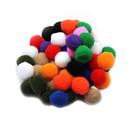 Charles Leonard CHL69500 Pom Poms 1In Asst Colors 50Ct
