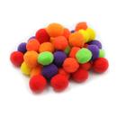 Charles Leonard CHL69516 Pom Poms 1In Hot Colors 50Ct