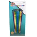 Charles Leonard CHL73310 Plastic Artist Brushes 10 Pk Asst