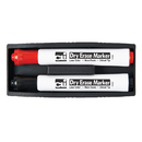 Charles Leonard CHL74532 Magnetic Whiteboard Eraser With Two - Markers