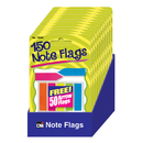 Charles Leonard CHL76940ST Note Flags Pack Of 30 In 5 Colors