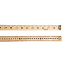Charles Leonard CHL77595 Ruler Meter Stick W/Metal End