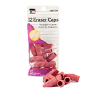 Charles Leonard CHL80799 Pink Eraser Caps 12/Bg