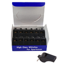 Champion Sports CHS601 Whistles Plastic Pack Of 12