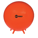 Champion Sports CHSBL75 Fitpro Ball Stability Legs Red 75Cm - Gr 8 And Up
