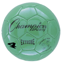 Champion Sports CHSEX4GN Soccer Ball Size4 Composite Green