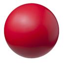 Champion Sports CHSHD85 High Density Coated Foam Ball 8In