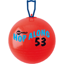 Champion Sports CHSPP53 Fitpro 20.5In Hop Along Pon Pon - Ball Red Medium