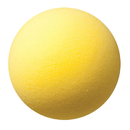 Champion Sports CHSRD7 Foam Ball 7In - Yellow