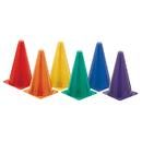Champion Sports CHSTC9SET Hi Visibility  Plastic Cone Set - Fluorescent