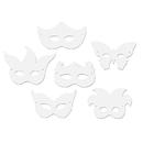 Chenille Kraft CK-4651 Die Cut Mardi Gras Masks 24Pk