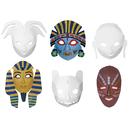 Chenille Kraft CK-4653 Multi Cultural Dimensional Masks 24Pk