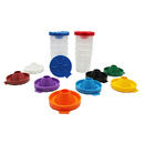 Chenille Kraft CK-5100 No Spill Paint Cups 10/Pk Dual Lid Storage Cups