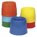 Chenille Kraft CK-5122 Stackable 6 Set Water Pots Asst - Colors 4.5 X 3.5