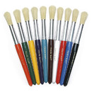 Chenille Kraft CK-5183 Colossal Brushes Set Of 10 Assorted Colors