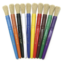 Chenille Kraft CK-5900 Colossal Brushes 10-Set Assorted Colors
