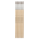 Chenille Kraft CK-5947 Tapered Water Color Brush 6-Set 11/16 Long Size 6
