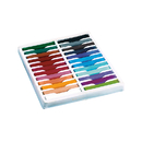 Chenille Kraft CK-9724 Quality Artists Square Pastels 24 Assorted Pastels