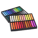 Chenille Kraft CK-9748 Quality Artists Square Pastels 48 Assorted Pastels