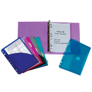 C-Line Products CLI30100 C Line Mini Binder Starter Kit - Assorted