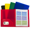 C-Line Products CLI32960 Assorted Two Pocket Poly Portfolios